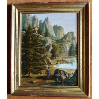 Augustus Onslow Animated Landscape, 1851.