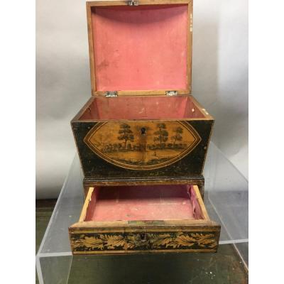 Box Of Spa, 19th Century.