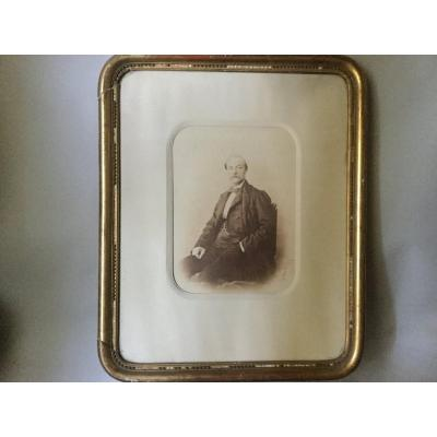 Le Gray, Portrait d'homme, Photographie, 19ème Siècle.