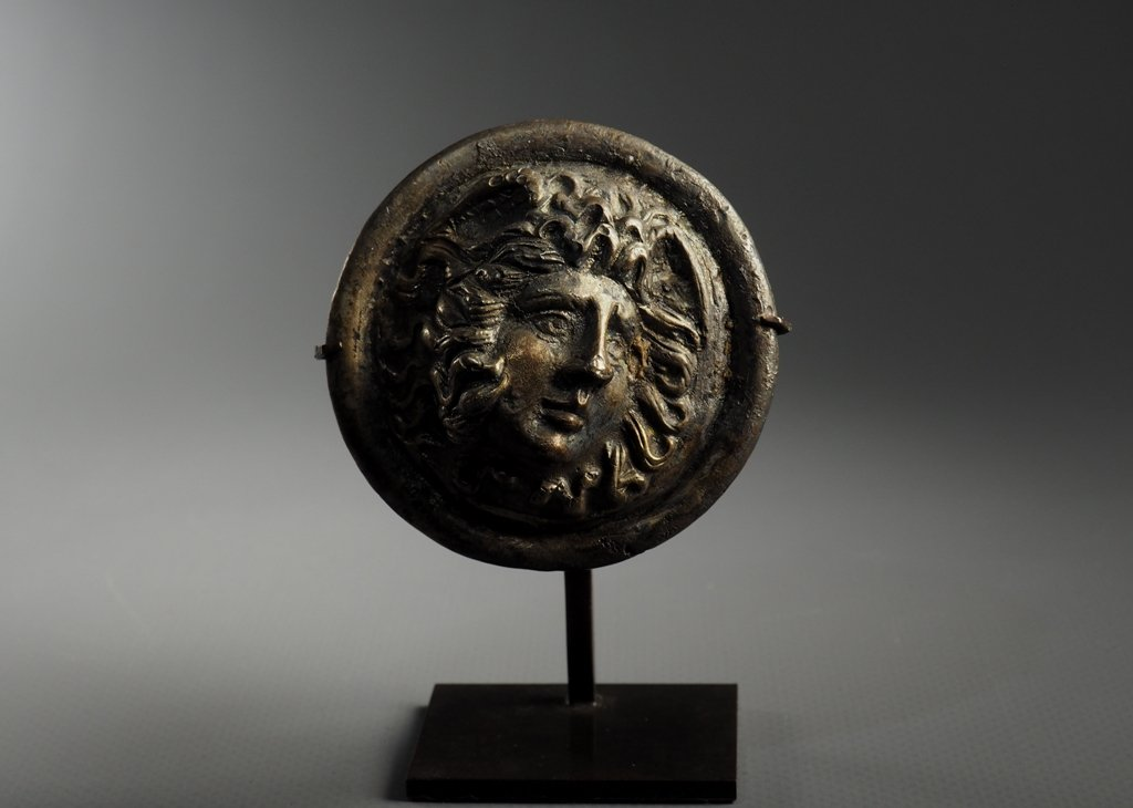 Phalera - Roman Art, 1st - 3rd Century. After Christ