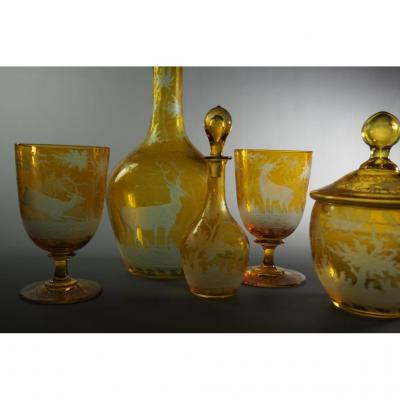 Two-person Tea Set Of The Amber Forest