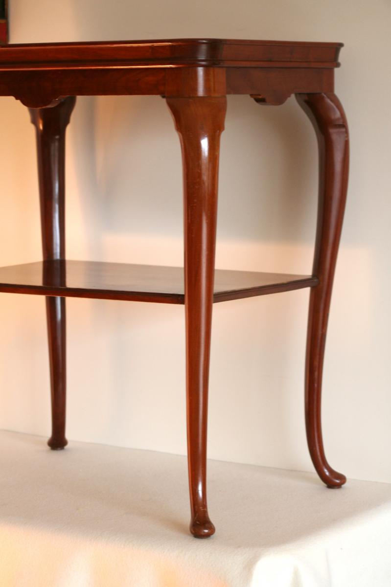 table th en acajou de style anglais d but 20 me tables. Black Bedroom Furniture Sets. Home Design Ideas