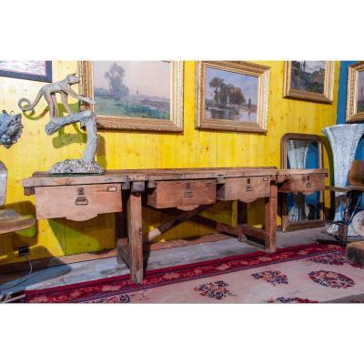4 Drawer Workbench