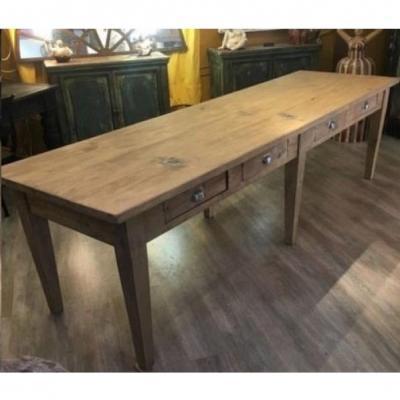 Table d'Atelier Restaurée