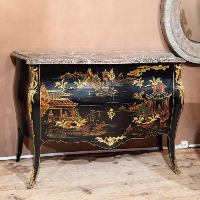 Commode Chinoise Style Louis XV