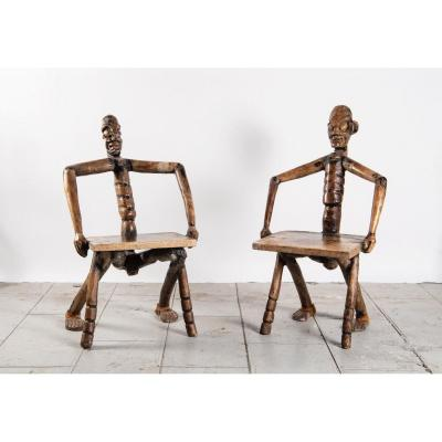 Pair Of Chairs - Papua