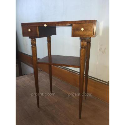 Signed Majortelle Nancy Dressing Table In Marquetry