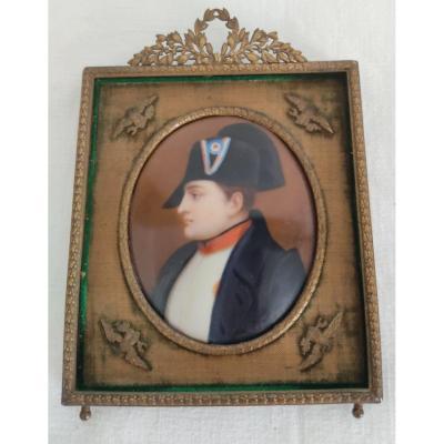 Miniature, Portrait De l'Empereur Napoleon Ier - Jean-Baptiste ISABEY
