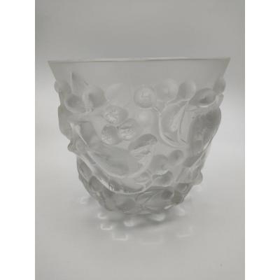 René Lalique - Vase  Avallon
