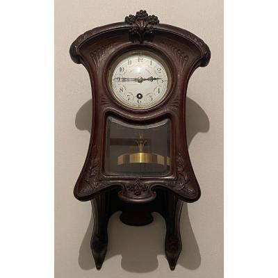 Claude Grivolas -  Cartel Pendule  Applique 400 Jours   Art Nouveau