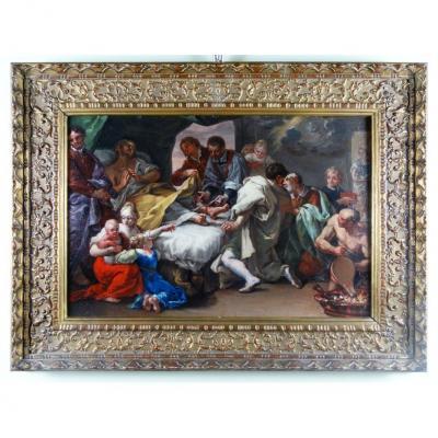 Peinture Napolitaine Du XVIIe Siècle, à étudier