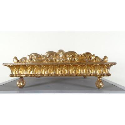Pupitre Dorè Et Sculpté Du XVIII Siècle