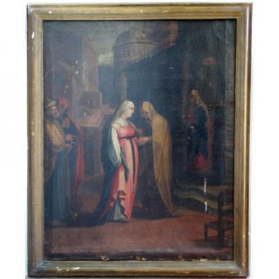 """«frère Solecito De Lodi"""", Une Peinture De '600 Pour Les Vrais Fans .."""
