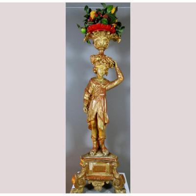 Sculpture d'Or Du XVIIe Siècle, Rome