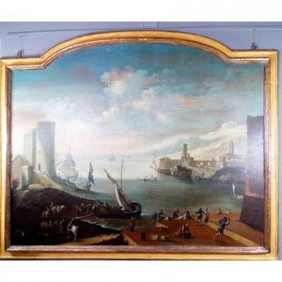 Marine Grande Napolitaine Du XVIIe Siècle