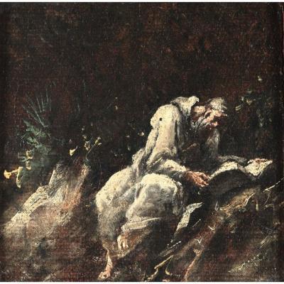 Une Petite Oeuvre d'Alessandro Magnasco (gênes, 1667 - 1749)