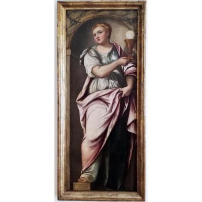 Un Saint De l'Atelier De Paolo Veronese (1528-1588)