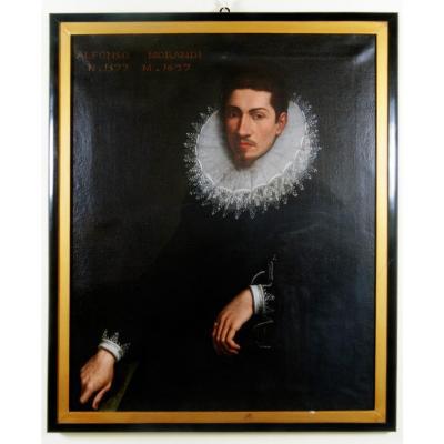 Pietro Facchetti: Portrait Of Alfonso Morandi