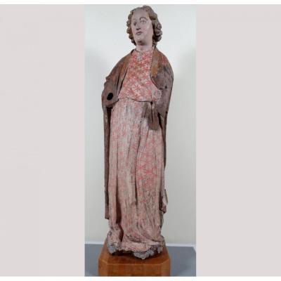 St Jean l'Evangéliste, '400 Sculptures Polychromes