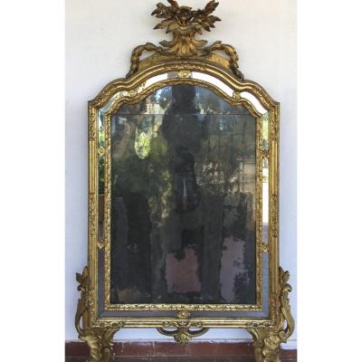Piedmontese Louis XV Mirror