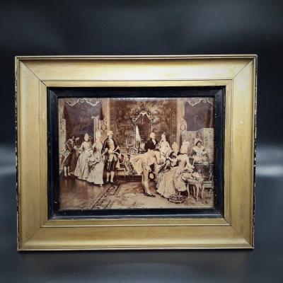 Crystoleum, Tableau Peint, Louis Wolff