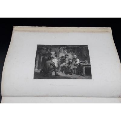 Recueil De Gravures Du Poème Tam O 'Shanter écrit Par Le Poète Robert Burns, 1855