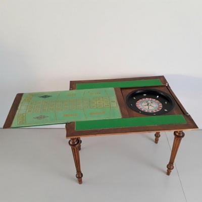 Rare Games Table, 19th Century