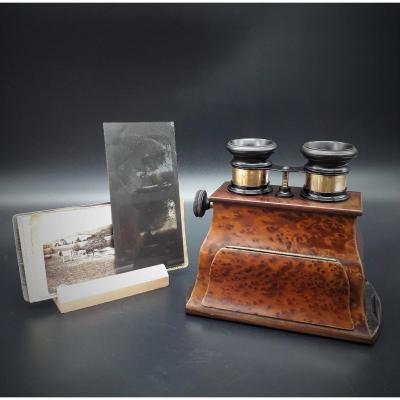 Stereoscopic Viewer, Brewster, Stereoscope