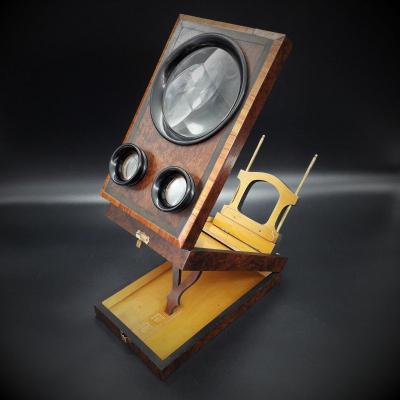 Graphoscope, Stereoscope, 19ème Siècle