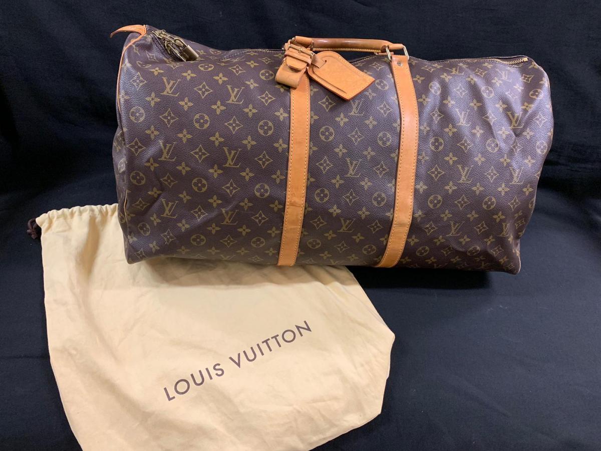 219e0408cc57 Sac De Voyage Louis Vuitton Modele Keepall 60 - vintage