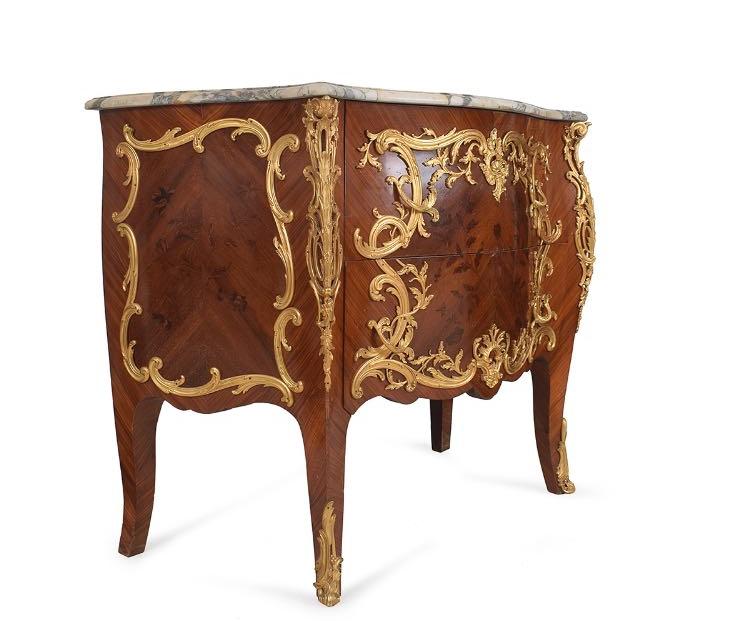 Cabinet Française XIXeme Siecle 93cm X 58cm X 117cm