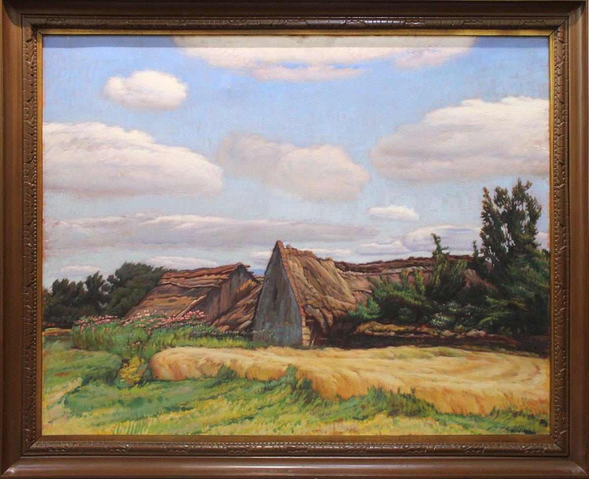 Rudolf Bém (pseudonym Vratislav Hlava) 1874 - 1955 Czech Painter