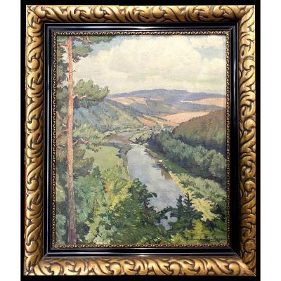 Otakar Hůrka 1899 -1966 Prague  Peintre Tchèque
