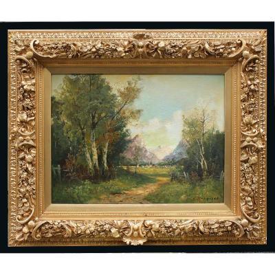 Paul Louis Morizet (1850-?) Peintre Français