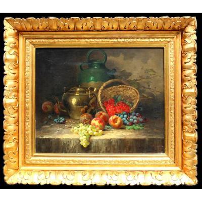 Victor Gallez    Peintre Belge (  Début XX Siecle)