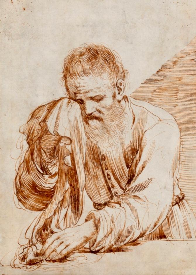 Attribuée à Cesare Gennari (1637-1688), Neuveu Du Guerchin (1591-1666)
