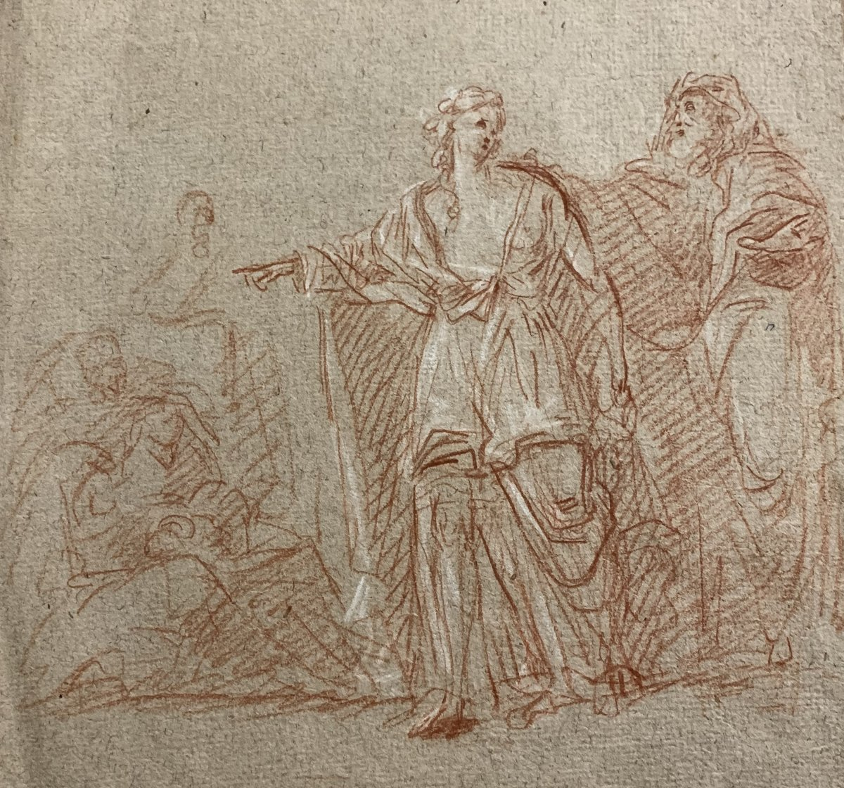 Pierre Théodore Suau (1789-1856), Oedipe Et Antigone