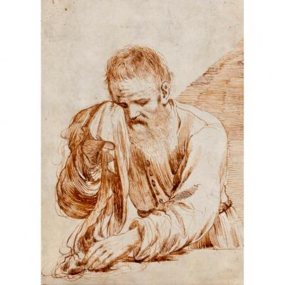 Attribute To Cesare Gennari (1637-1688), Surroundings Of Guercino (1591-1666)