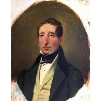 Jean Baptiste Isabey (1767-1855), Portrait du chirurgien Guillaume Dupuytren