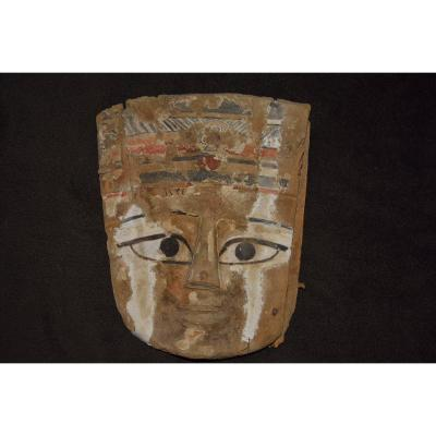 Sarcophagus Mask Ptolemaic Era
