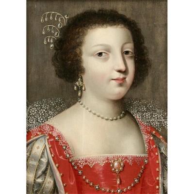 Claude Deruet (1588-1660), Presumed Portrait Of