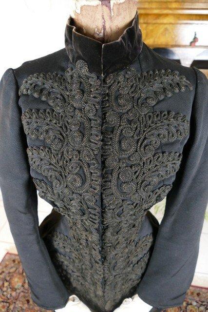 Worth Jacket, Paris, Ca. 1889-photo-3