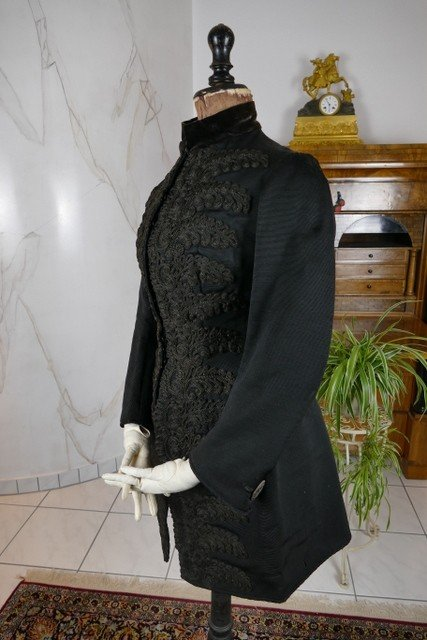 Worth Jacket, Paris, Ca. 1889-photo-1
