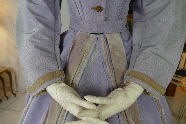 Robe De Réception, Amérique, Vers 1866-photo-1