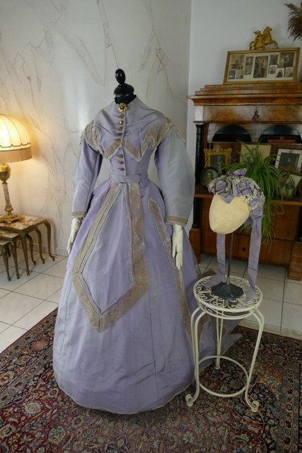 Robe De Réception, Amérique, Vers 1866