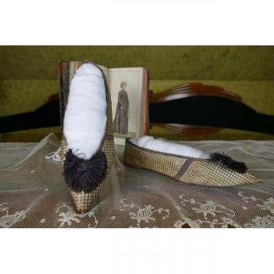 Chaussures Rococo, Angleterre, Vers 1796