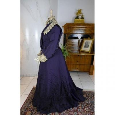 Madame Percy Visiting Gown, Ca. 1898