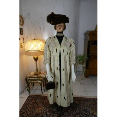 Ermine And Lace Coat, Marija Pawlowna Romanowa, Ca. 1908