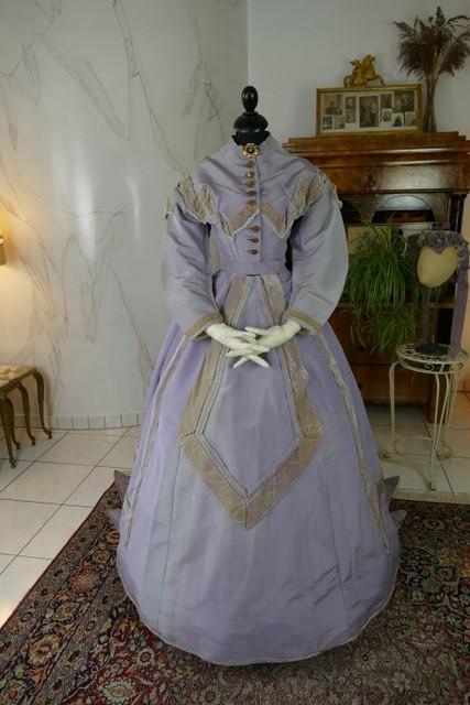 Robe De Réception, Amérique, Vers 1866-photo-4