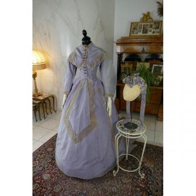 Reception Gown, America, Ca. 1866